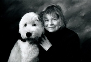 Helene Anne Fortin and Puppy - Photo Credit: Lynn Lacroix