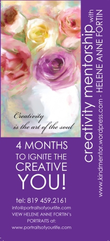 4x9 creative Mentorship - side 1