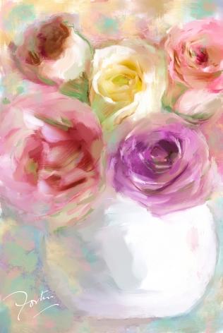 Digital Art by Helene Anne Fortin