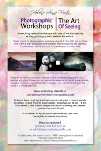 Photographic Workshop POSTER